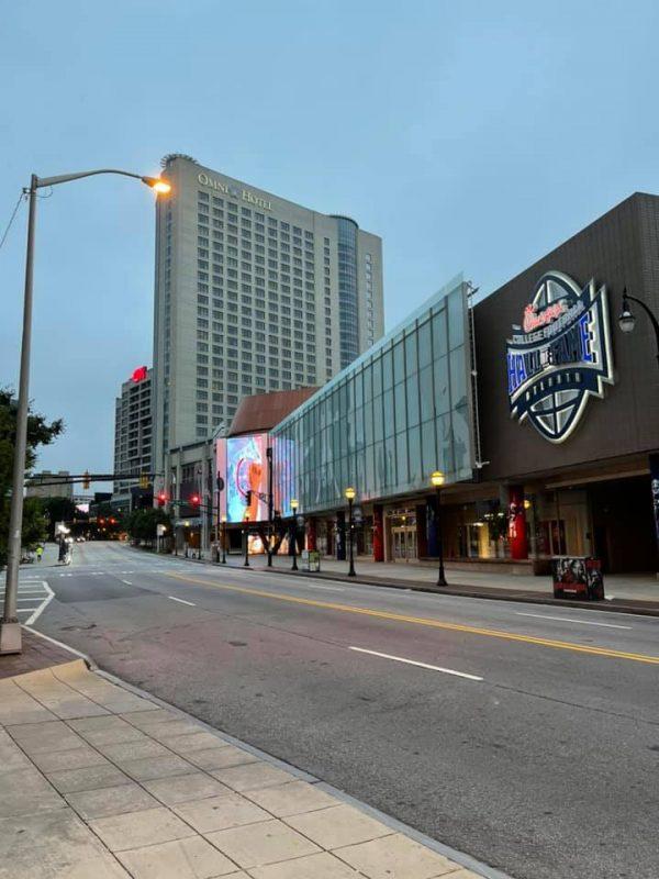 Atlanta city streets