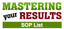 Mastering Your Results - SOP List