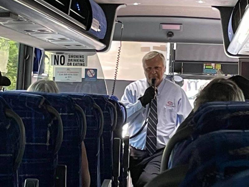 Our bus tour guide.