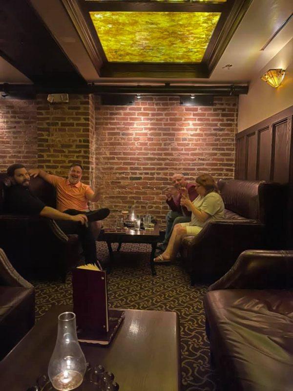 Hotel lounge mini conference